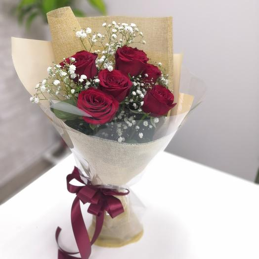 Моей половинке️: букеты цветов на заказ Flowwow