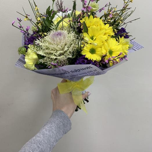 Брассика: букеты цветов на заказ Flowwow