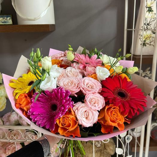 Рд яркое настроение: букеты цветов на заказ Flowwow