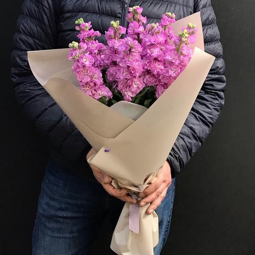 Лиловая дымка: букеты цветов на заказ Flowwow