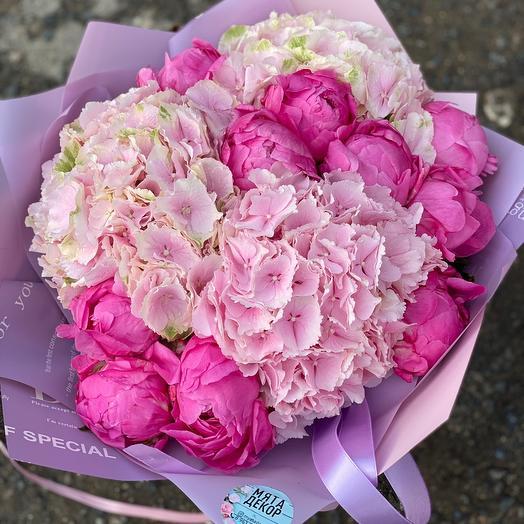 Букет Розовое чудо: букеты цветов на заказ Flowwow