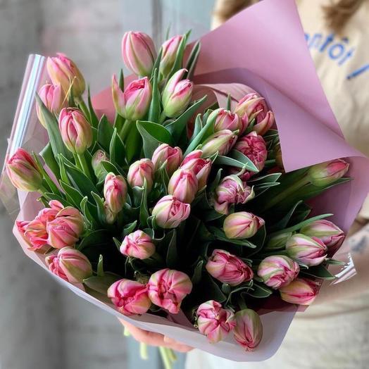 """Букет тюльпанов ,,Весеннее настроение"""""""