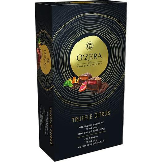 Шоколадные конфеты Ozera Truffle Citrus 220 г