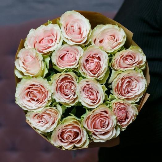 15 роз Frutteto в крафте