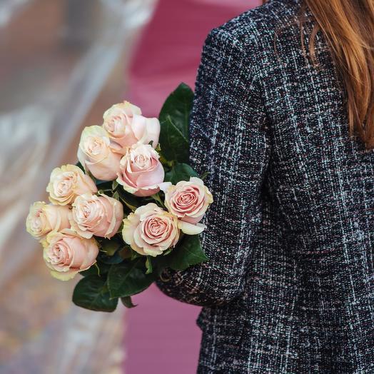 Букет из Эквадорских роз Пинк Мондиаль