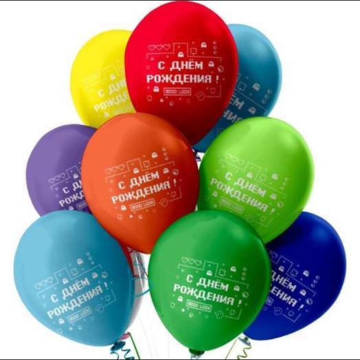 Воздушные шары в ассортименте