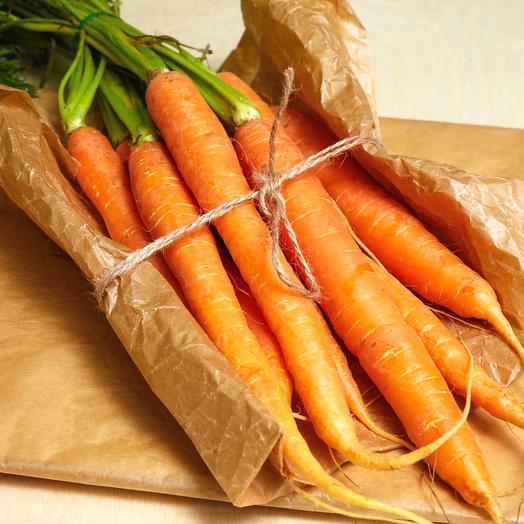 Морковь молодая (пучок)