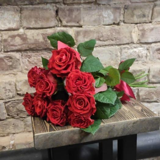 Роза Алая 9