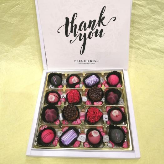 Набор конфет ручной работы FRENCH KISS SPB 10/2 Thank you