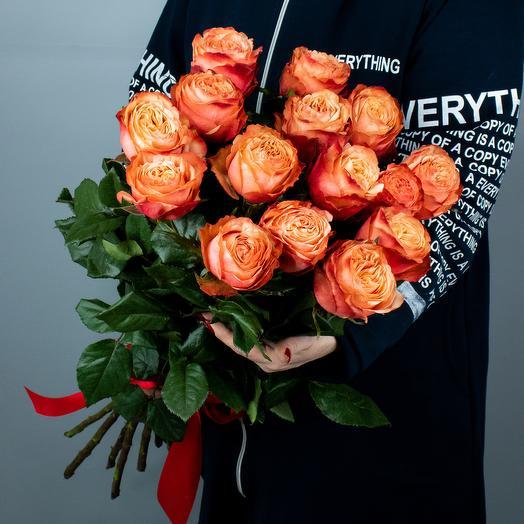 Букет из 15 роз Кахала