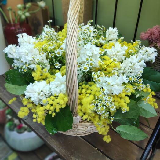 Корзина весна-лето