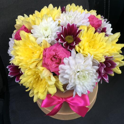 Цветы в коробке 05367