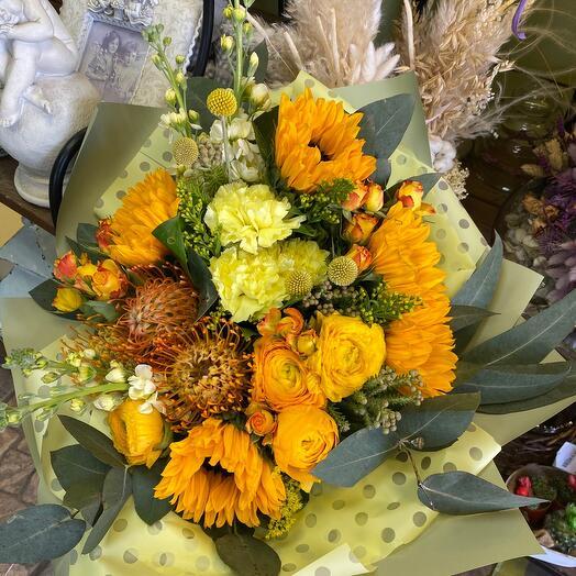 Букет цветов Сафари
