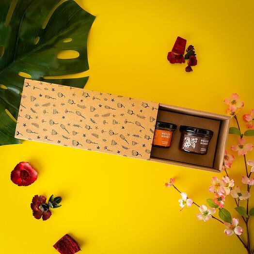 Подарочный набор с карамелью «Весенний букет»