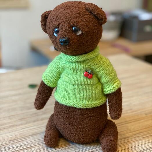 Игруша медведь «Прости»