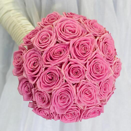 """Букет невесты """"Розовый каприз"""""""