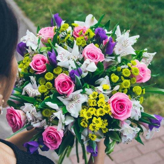 Утренний букет: букеты цветов на заказ Flowwow