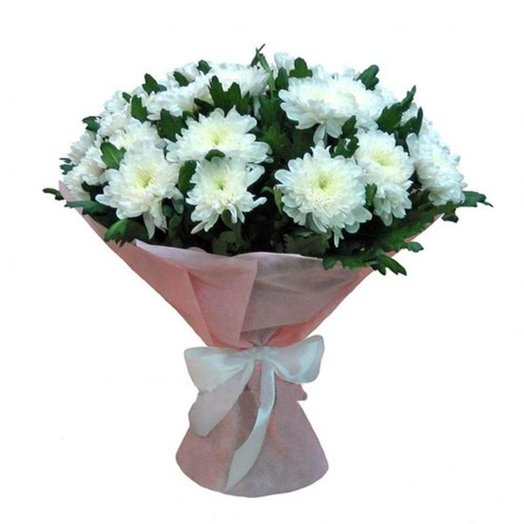 Букет хризантем: букеты цветов на заказ Flowwow