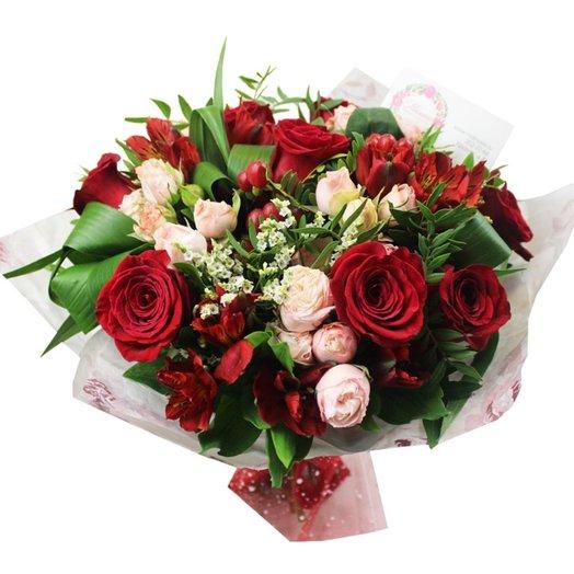Букет Агата: букеты цветов на заказ Flowwow