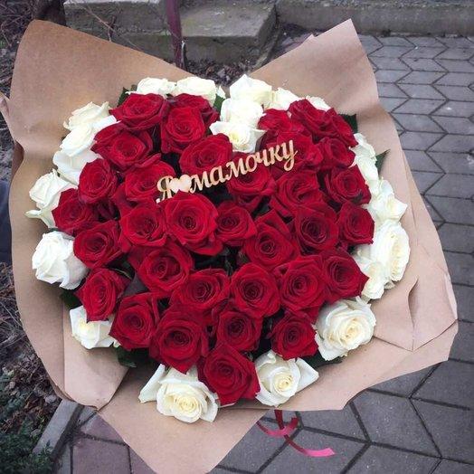 Букет для Мамочке: букеты цветов на заказ Flowwow