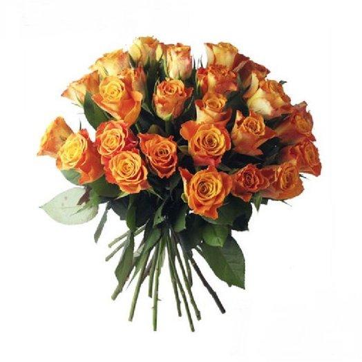 25 Кенийских роз: букеты цветов на заказ Flowwow