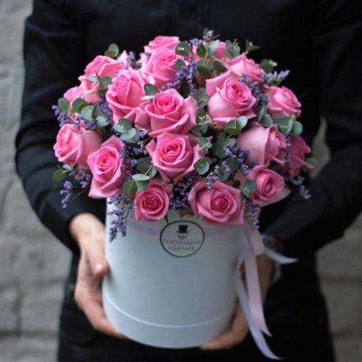 PINK: Розовое сияние: букеты цветов на заказ Flowwow