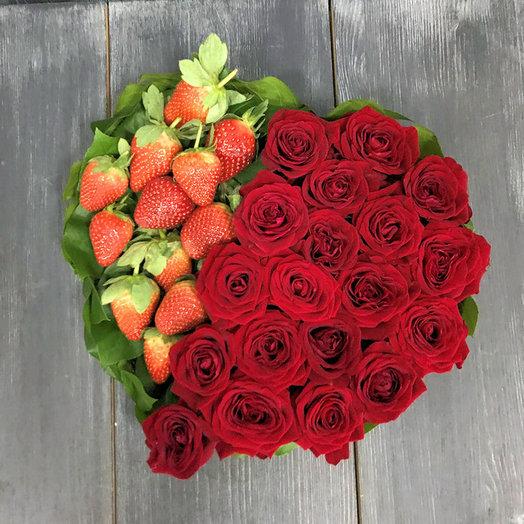 "Букет роз ""Вкус любви"""