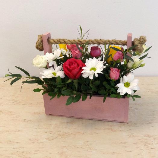 Ящик 7: букеты цветов на заказ Flowwow