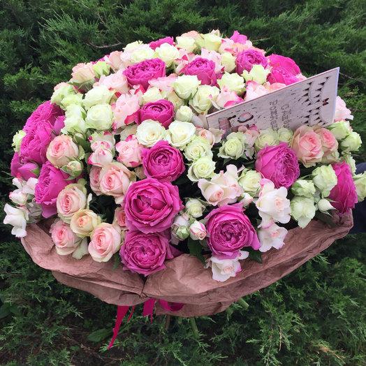 Нежнейший микс: букеты цветов на заказ Flowwow