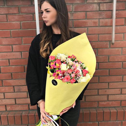 9 Сборный букетик: букеты цветов на заказ Flowwow