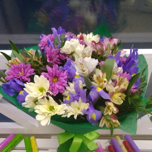 "Букет ""Пчелиный мёд"": букеты цветов на заказ Flowwow"