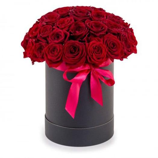 "Цветочная композиция ""Затмение"": букеты цветов на заказ Flowwow"