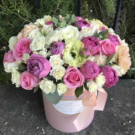 Flowers in a box: flowers to order Flowwow