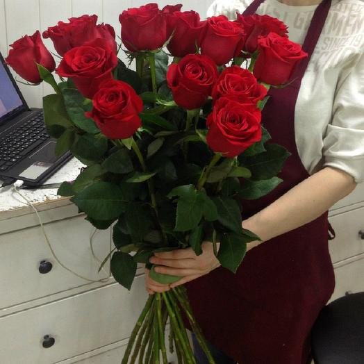 15 высоких роз