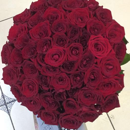 Букет 51 уральская роза