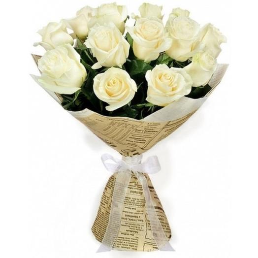 Букет  011: букеты цветов на заказ Flowwow
