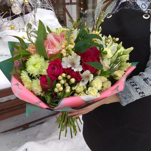Модный букет: букеты цветов на заказ Flowwow