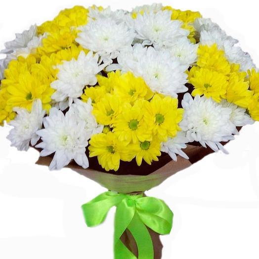 Хризантемы: букеты цветов на заказ Flowwow