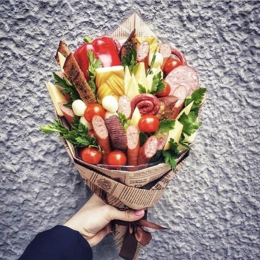Букет ассорти «Гурман»: букеты цветов на заказ Flowwow