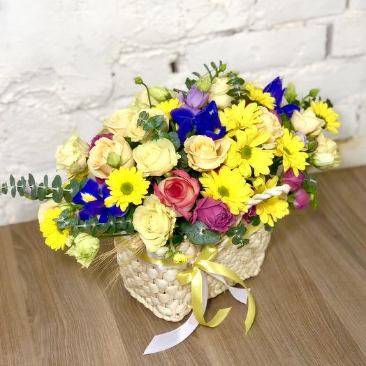 """Композиция """"Счастливый день"""": букеты цветов на заказ Flowwow"""