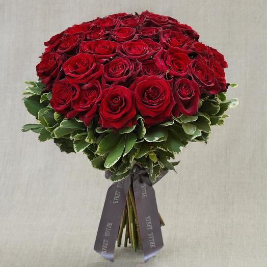 "Моно-букет из роз ""Амур и Психея"": букеты цветов на заказ Flowwow"