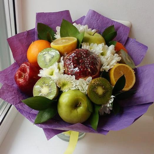 "Букет ""Фруктовый микс"": букеты цветов на заказ Flowwow"