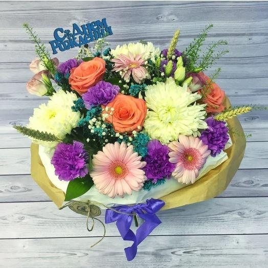 Праздник: букеты цветов на заказ Flowwow