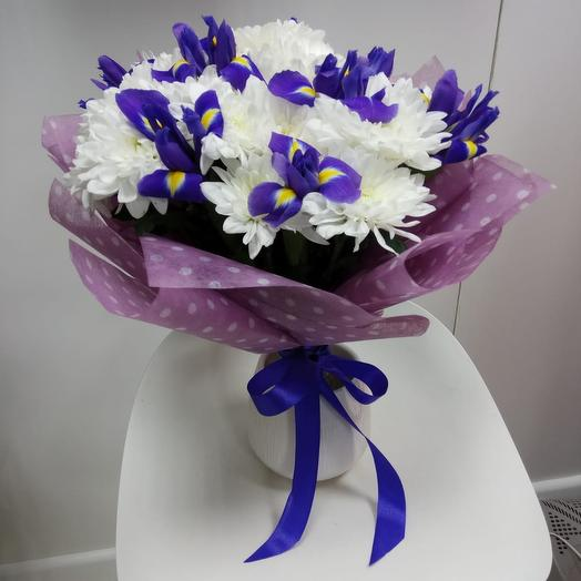 Сереневая дымка: букеты цветов на заказ Flowwow