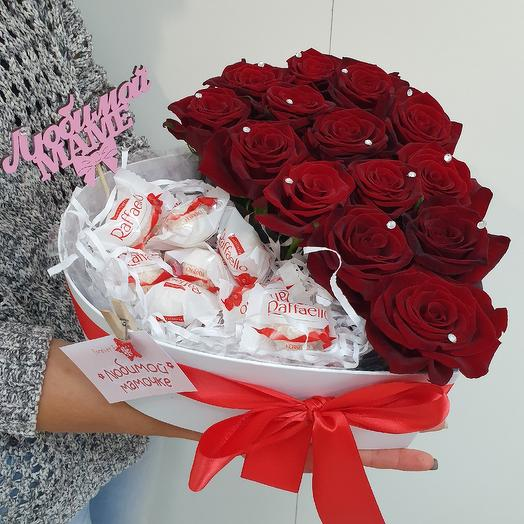 Коробка приятное чудо: букеты цветов на заказ Flowwow