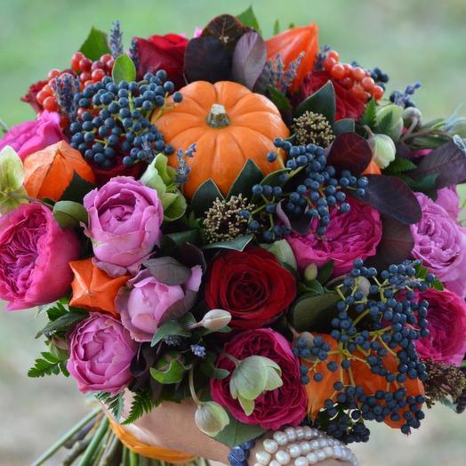 """Букет цветов """"Дары осени"""": букеты цветов на заказ Flowwow"""