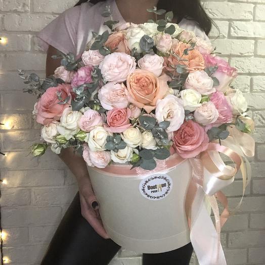 Diamond box: букеты цветов на заказ Flowwow