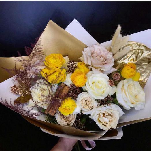 Зимняя встреча: букеты цветов на заказ Flowwow