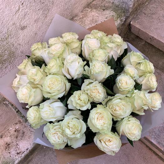 45 White roses