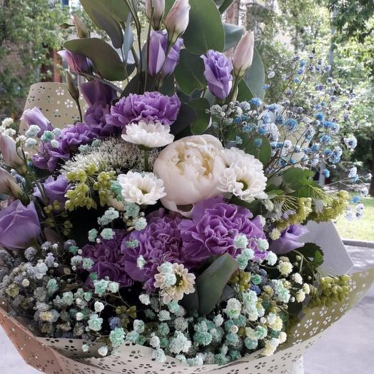 Сборный долгоиграющий букет: букеты цветов на заказ Flowwow